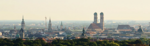 La ville de Munich de jour